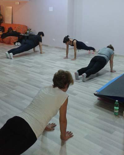Pilates con Mara e Elena