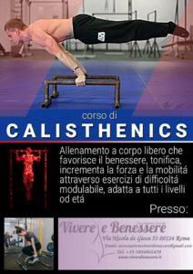 Corso di disciplina Calisthenics