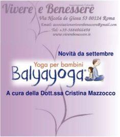 balyayoga yoga per bambini